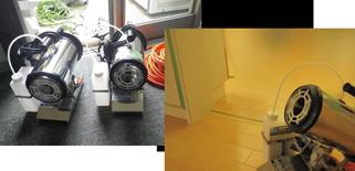 設備内拭き掃除、設備環境を整える